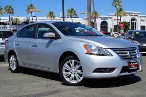 New 2015 Nissan Sentra SL FWD 4D Sedan